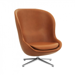 HYG HIGH swivel leather - Easy chair - Themes -  Silvera Uk