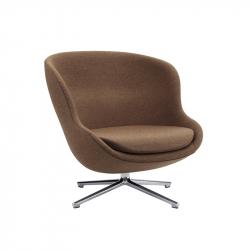 HYG LOW swivel fabric - Easy chair - Designer Furniture -  Silvera Uk