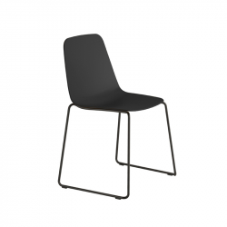 MAARTEN PLASTIC Sled base - Dining Chair - Themes -  Silvera Uk
