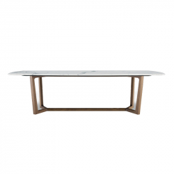 CONCORDE Rectangular - Dining Table -  -  Silvera Uk