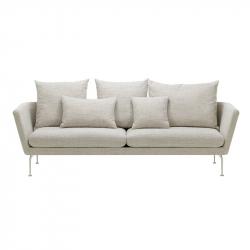 SUITA Pointed cushions 3-seater - Sofa - Designer Furniture -  Silvera Uk
