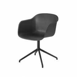 FIBER ARMCHAIR central leg - Dining Armchair -  -  Silvera Uk