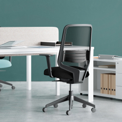 DOT.HOME BLACK EDITION - Office Chair - Designer Furniture - Silvera Uk