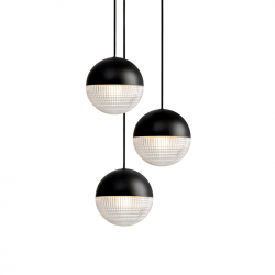 LITTLE LENS FLAIR CHANDELIER - Pendant Light - Designer Lighting -  Silvera Uk
