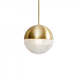 LITTLE LENS FLAIR - Pendant Light - Designer Lighting -  Silvera Uk