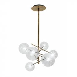 BOLLE 6 - Pendant Light - Designer Lighting -  Silvera Uk