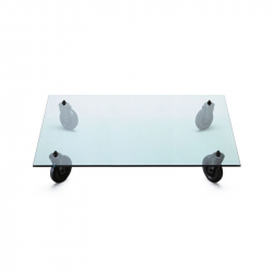 TAVOLO CON RUOTE Rectangular - Coffee Table - Designer Furniture -  Silvera Uk