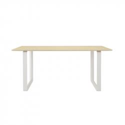 70/70 solid oak - Dining Table - Designer Furniture -  Silvera Uk