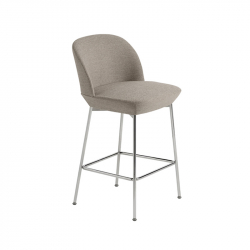OSLO - Bar Stool - Designer Furniture -  Silvera Uk