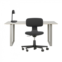 70/70 Desk - ROOKIE Chair - FOCUS Lamp Pack - Home Office Pack - Silvera Contract -  Silvera Uk