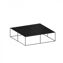SLIM IRONY LOW TABLE - Coffee Table - Designer Furniture -  Silvera Uk