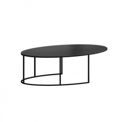 SLIM IRONY OVAL - Coffee Table - Designer Furniture -  Silvera Uk