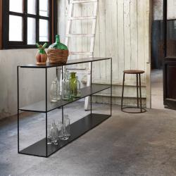 SLIM IRONY SIDEBOARD - Shelving - Designer Furniture - Silvera Uk