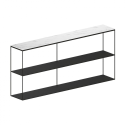 SLIM MARBLE SIDEBOARD - Shelving - Designer Furniture -  Silvera Uk