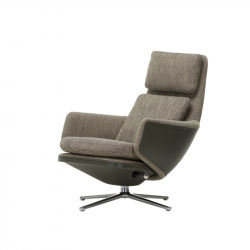 GRAND RELAX Fabric - Easy chair - Designer Furniture -  Silvera Uk