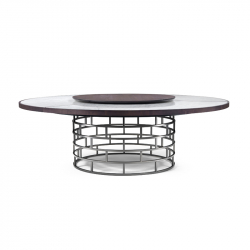 CROWN - Dining Table -  -  Silvera Uk