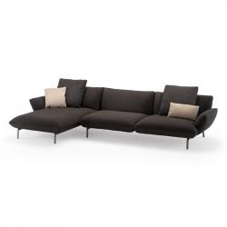 DOVE L 345 with chaise longue - Sofa -  -  Silvera Uk
