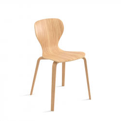 EARS wooden lowe - Dining Chair - Designer Furniture -  Silvera Uk