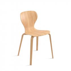 EARS wooden base - Dining Chair - Designer Furniture -  Silvera Uk