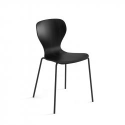 EARS metal base - Dining Chair - Designer Furniture -  Silvera Uk
