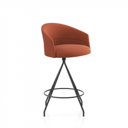 COPA Swivel - Bar Stool - Designer Furniture -  Silvera Uk