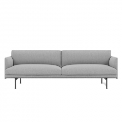 OUTLINE 3 seater fabric - Sofa - Accueil -  Silvera Uk
