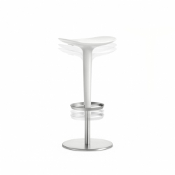 BABAR Height-adjustable - Bar Stool - Designer Furniture -  Silvera Uk