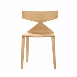 SAYA wood - Dining Chair -  -  Silvera Uk