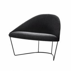 COLINA M Steel base - Easy chair -  -  Silvera Uk