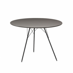 LEAF TABLE Ø100 - Dining Table -  -  Silvera Uk