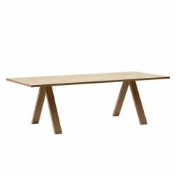 CROSS 240x98 oak - Dining Table -  -  Silvera Uk