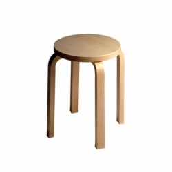 E60 4 legs - Stool - Designer Furniture -  Silvera Uk
