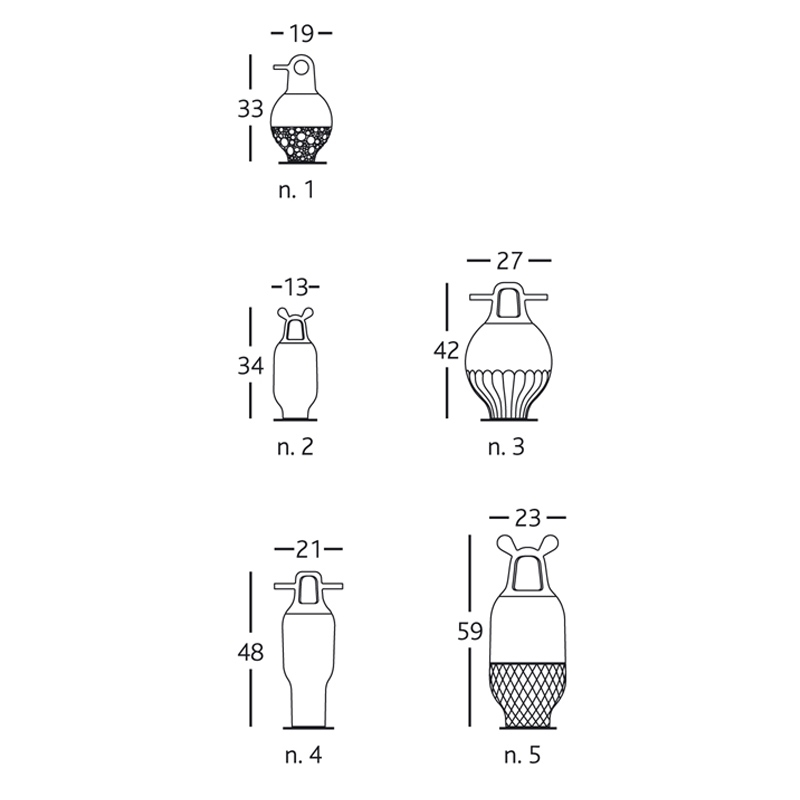 Vase SHOWTIME 5
