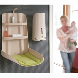 NATHI Wall-mounted baby-changing table - Table & Desk - Child - Silvera Uk