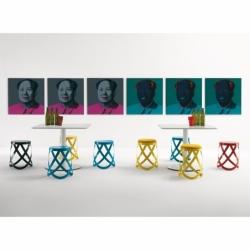 RIBBON - Stool - Designer Furniture - Silvera Uk
