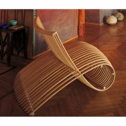 WOODEN CHAIR - Easy chair - Designer Furniture - Silvera Uk