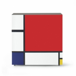 HOMAGE TO MONDRIAN 2 - Storage Unit - Designer Furniture -  Silvera Uk