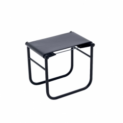 LC9 Leather - Stool - Designer Furniture -  Silvera Uk