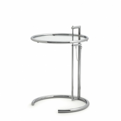 ADJUSTABLE TABLE E1027 - Side Table - Designer Furniture - Silvera Uk