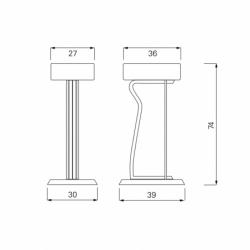 BAR STOOL NO.2 - Bar Stool - Designer Furniture - Silvera Uk