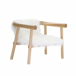 ALTAY goatskin - Easy chair - Designer Furniture -  Silvera Uk