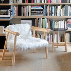 ALTAY goatskin - Easy chair - Designer Furniture - Silvera Uk