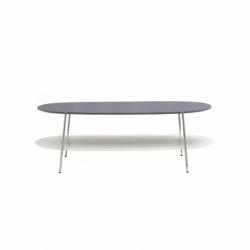 SHIKA L 110 chrome base - Coffee Table - Designer Furniture -  Silvera Uk