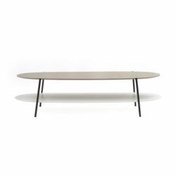 SHIKA L 140 black base - Coffee Table - Designer Furniture -  Silvera Uk