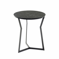 STAR Marquina - Side Table -  -  Silvera Uk