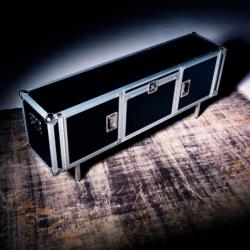 TOTAL FLIGHTCASE L 180 - Storage Unit - Designer Furniture - Silvera Uk