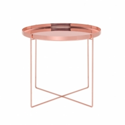 CM05 HABIBI Ø 57 x H 47 - Side Table - Designer Furniture -  Silvera Uk