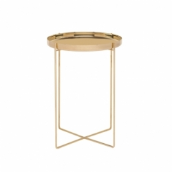 CM05 HABIBI Ø 37 x H 47 - Side Table - Designer Furniture -  Silvera Uk
