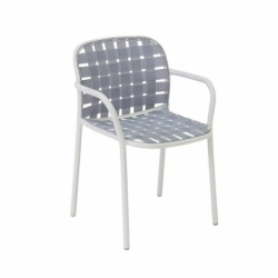 YARD with armrests - Dining Armchair - Designer Furniture -  Silvera Uk