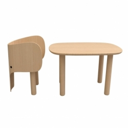 ELEPHANT Child's table - Table & Desk -  -  Silvera Uk